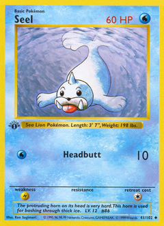 Seel card for Base Set