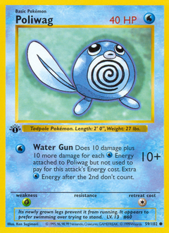 Poliwag card for Base Set