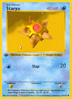 Staryu card for Base Set