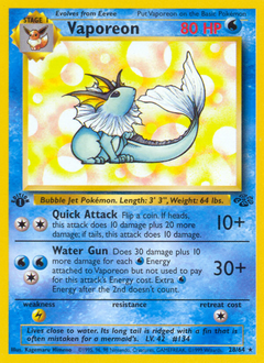 Vaporeon card for Jungle