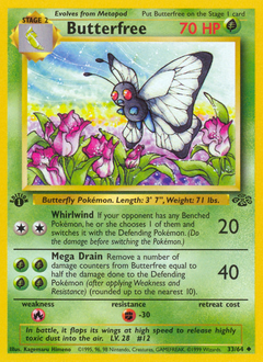 Butterfree card for Jungle
