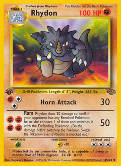 Rhydon card for Jungle