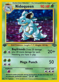 Nidoqueen card for Jungle