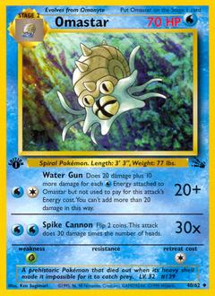 Omastar card for Fossil