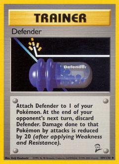 Defender card for Base Set 2