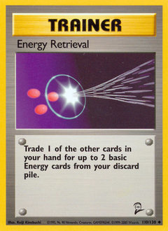 Energy Retrieval card for Base Set 2