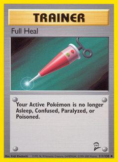 Full Heal card for Base Set 2