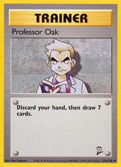 Professor Oak card for Base Set 2