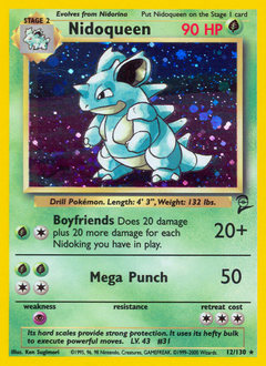 Nidoqueen card for Base Set 2