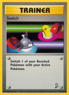 Switch card for Base Set 2