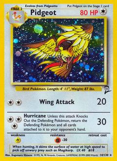 Pidgeot card for Base Set 2