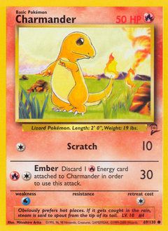 Charmander card for Base Set 2