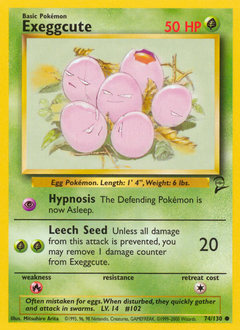 Exeggcute card for Base Set 2