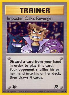 Imposter Oak's Revenge
