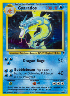Gyarados card for Legendary Collection
