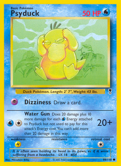 Psyduck card for Legendary Collection