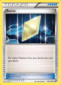 Revive card for Black & White