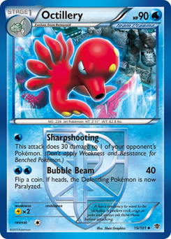 Octillery card for Plasma Blast