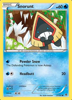 Snorunt card for Plasma Blast