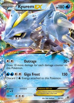 Kyurem-EX card for Plasma Blast
