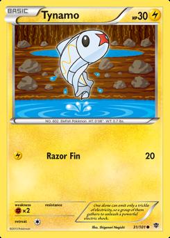 Tynamo card for Plasma Blast