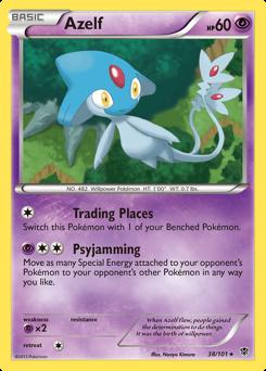 Azelf card for Plasma Blast