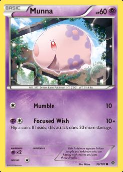 Munna card for Plasma Blast