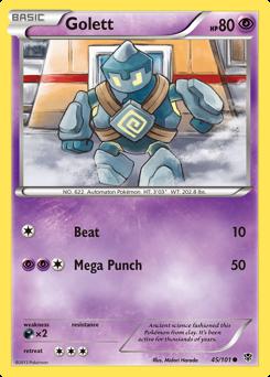 Golett card for Plasma Blast