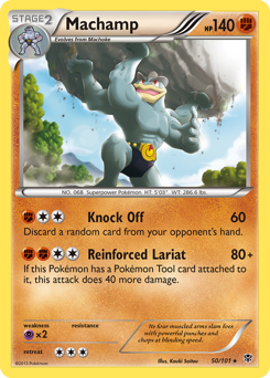 Machamp card for Plasma Blast