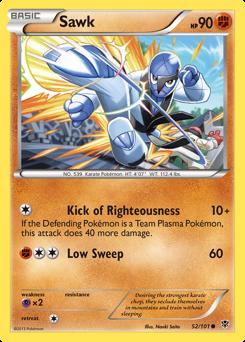 Sawk card for Plasma Blast