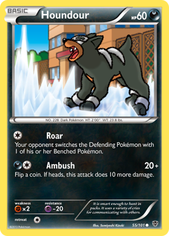Houndour card for Plasma Blast