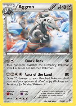 Aggron card for Plasma Blast