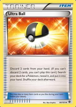 Ultra Ball card for Plasma Blast