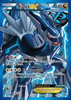 Dialga-EX card for Plasma Blast