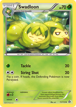 Swadloon card for Legendary Treasures