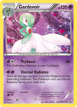 Gardevoir card for Legendary Treasures