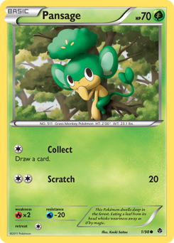 Pansage card for Emerging Powers
