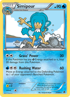 Simipour card for Emerging Powers