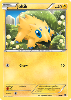 Joltik card for Emerging Powers