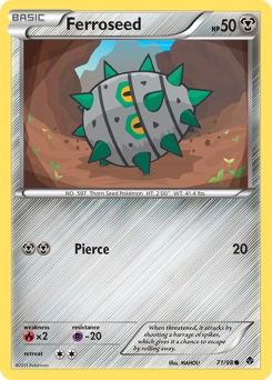 Ferroseed card for Emerging Powers