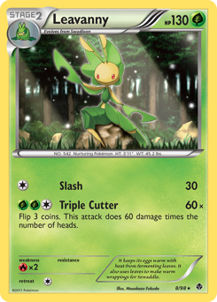 Leavanny card for Emerging Powers