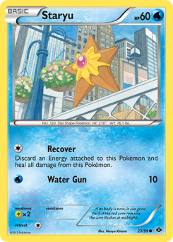 Staryu card for Next Destinies