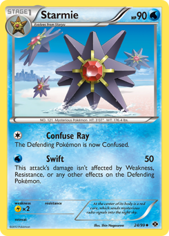 Starmie card for Next Destinies