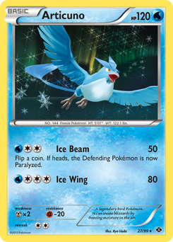 Articuno card for Next Destinies