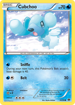 Cubchoo card for Next Destinies