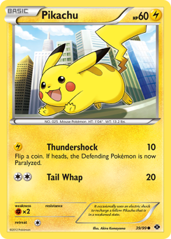 Pikachu card for Next Destinies