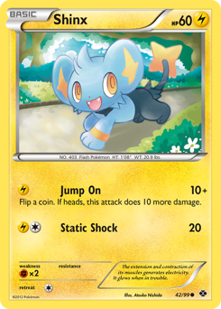 Shinx card for Next Destinies