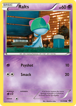 Ralts card for Next Destinies