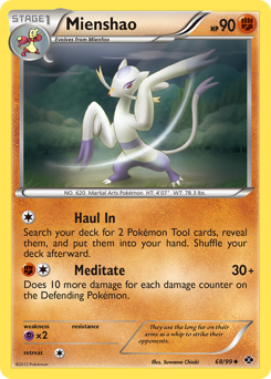 Mienshao card for Next Destinies