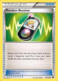 Random Receiver card for Dark Explorers